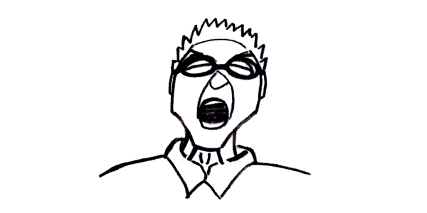 Chester Bennington doodle