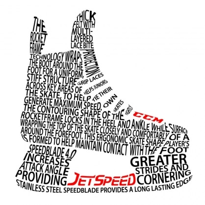 Jetspeed Typography - White version