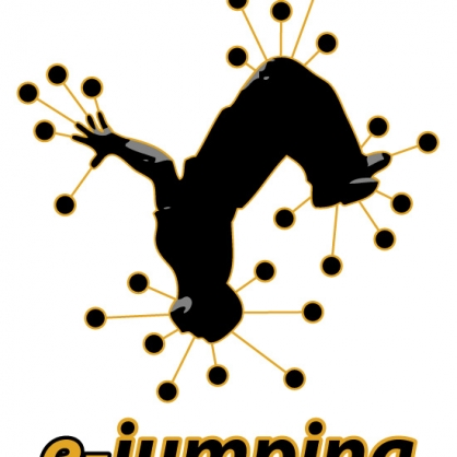 2-E-jumping first logo