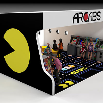 Arcabs – Booth