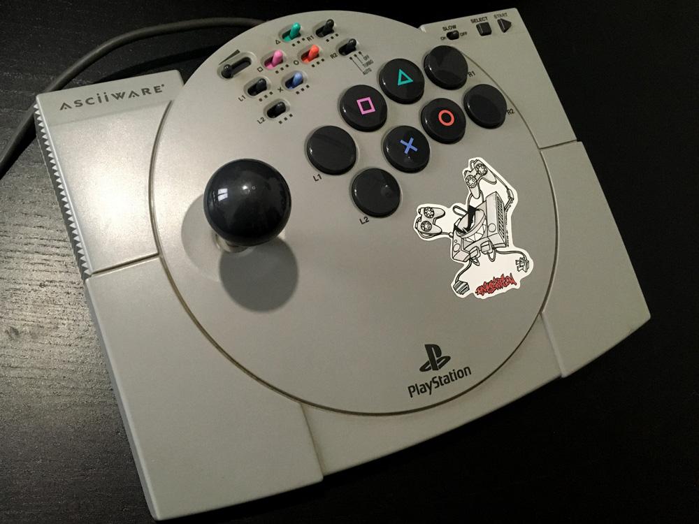 Asciiware Playstation Arcade Stick