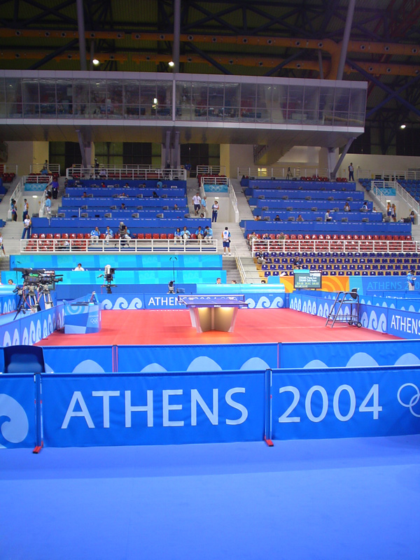 Athens 2004 Olympics - Ping pong