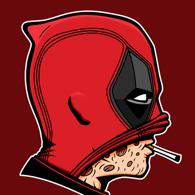 Deadpool – Smoking usually kills